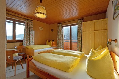 Spatzennest-Schlafzimmer